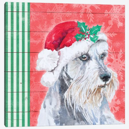 Holiday Puppy V Canvas Print #PPI471} by Patricia Pinto Canvas Print