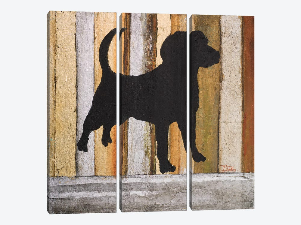 Best Friend II by Patricia Pinto 3-piece Canvas Art Print