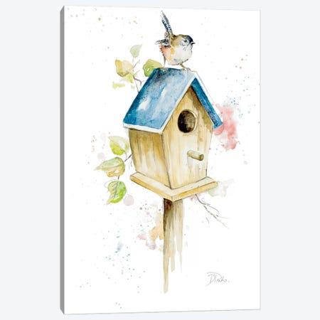 Bird House I Canvas Print #PPI48} by Patricia Pinto Canvas Art Print