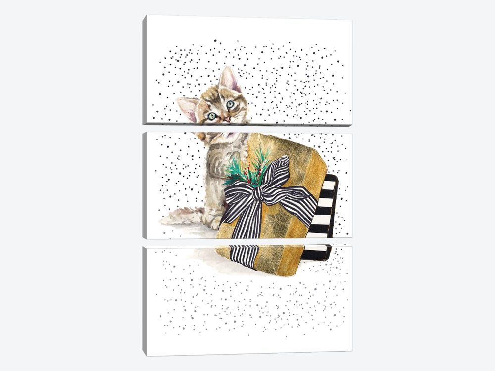 My Cute Present II by Patricia Pinto 3-piece Canvas Print