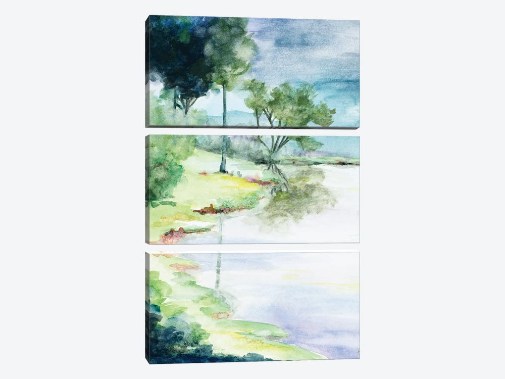 My Dream Place by Patricia Pinto 3-piece Canvas Wall Art