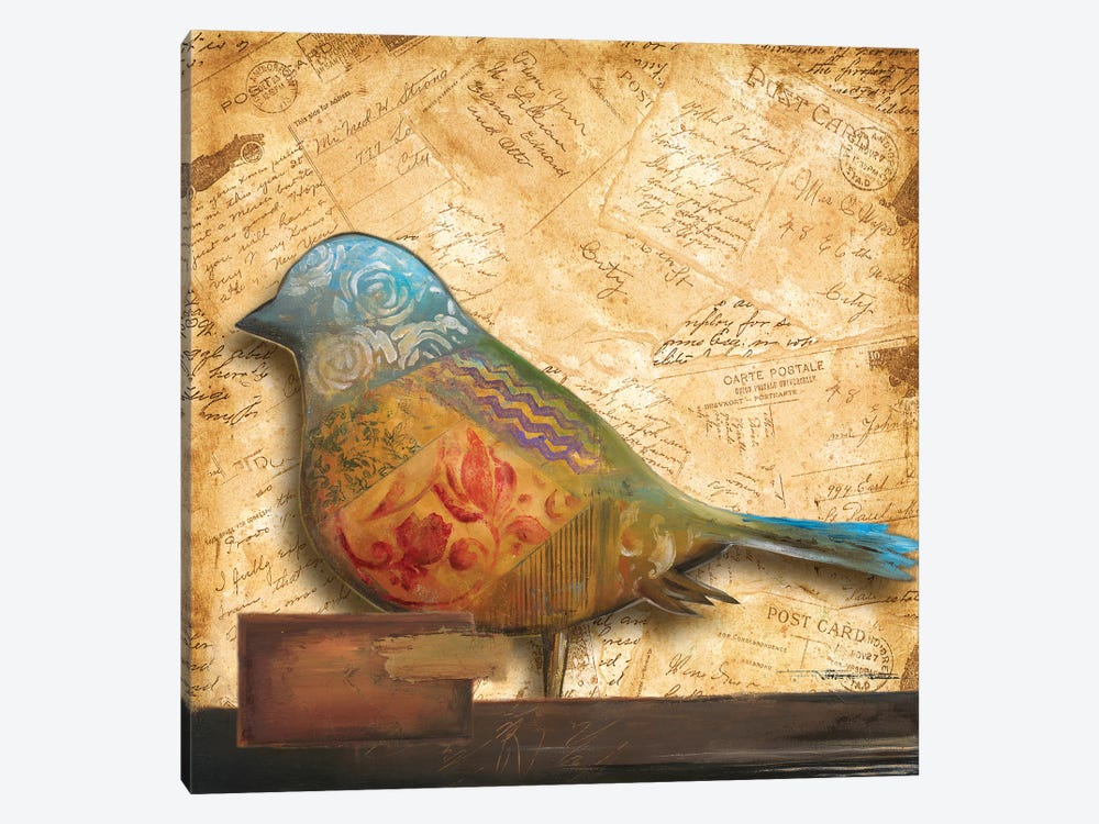 Bird of Collage I by Patricia Pinto 1-piece Art Print
