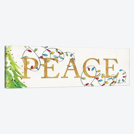 Peace With Lights Canvas Print #PPI522} by Patricia Pinto Canvas Art Print