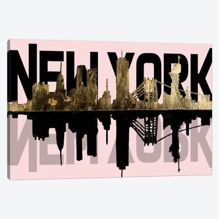 Pink, NY Canvas Print #PPI526} by Patricia Pinto Canvas Artwork
