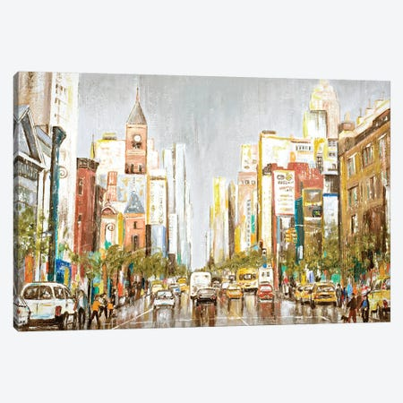 Rainy Days Canvas Print #PPI531} by Patricia Pinto Canvas Artwork