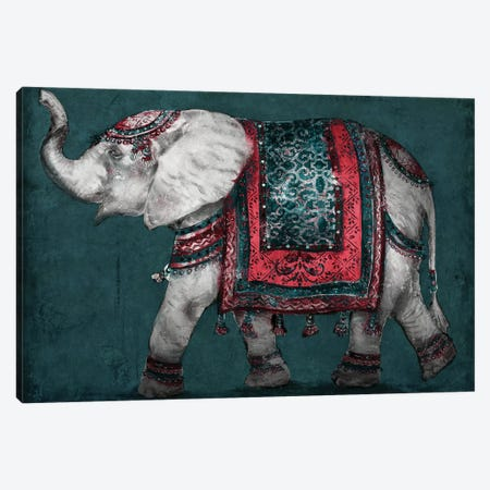Regal Elephant Canvas Print #PPI532} by Patricia Pinto Canvas Art