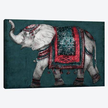 Regal Elephant Canvas Print #PPI532} by Patricia Pinto Canvas Art