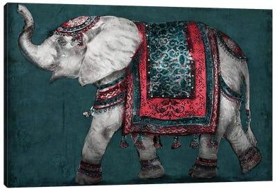 Regal Elephant Canvas Art Print