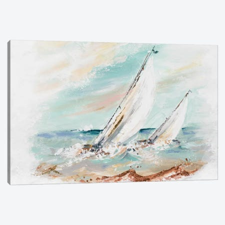 Regatta Canvas Print #PPI533} by Patricia Pinto Canvas Wall Art