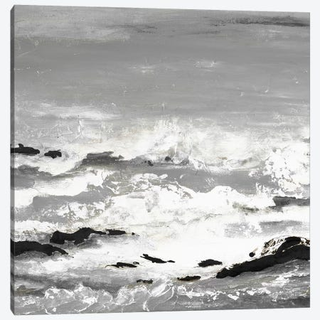 Rocks And Waves Canvas Print #PPI537} by Patricia Pinto Canvas Print