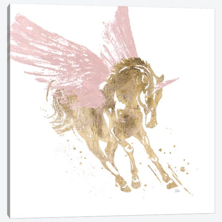 Spirit Unicorn Canvas Print #PPI556} by Patricia Pinto Canvas Print