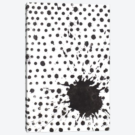 Splash With Dots Canvas Print #PPI557} by Patricia Pinto Canvas Art Print