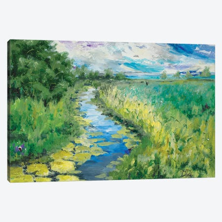 Summer Fields Canvas Print #PPI559} by Patricia Pinto Canvas Art