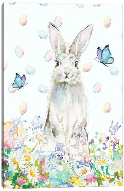 Tall Easter Bunny Canvas Art Print