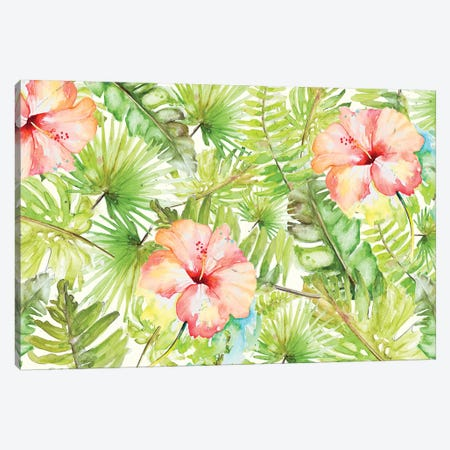 Tropical Breeze Canvas Print #PPI574} by Patricia Pinto Art Print