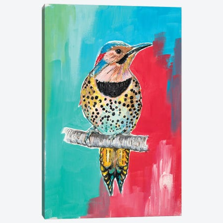 Woodpecker I 3-Piece Canvas #PPI592} by Patricia Pinto Canvas Art