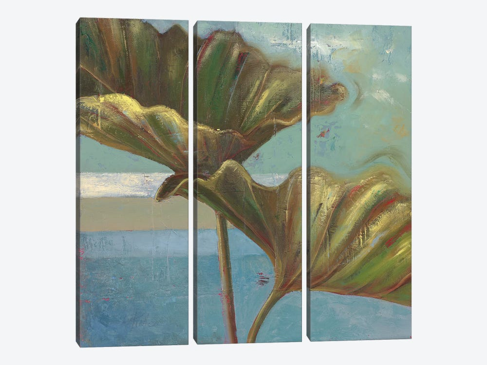 Blue Dream II by Patricia Pinto 3-piece Canvas Wall Art