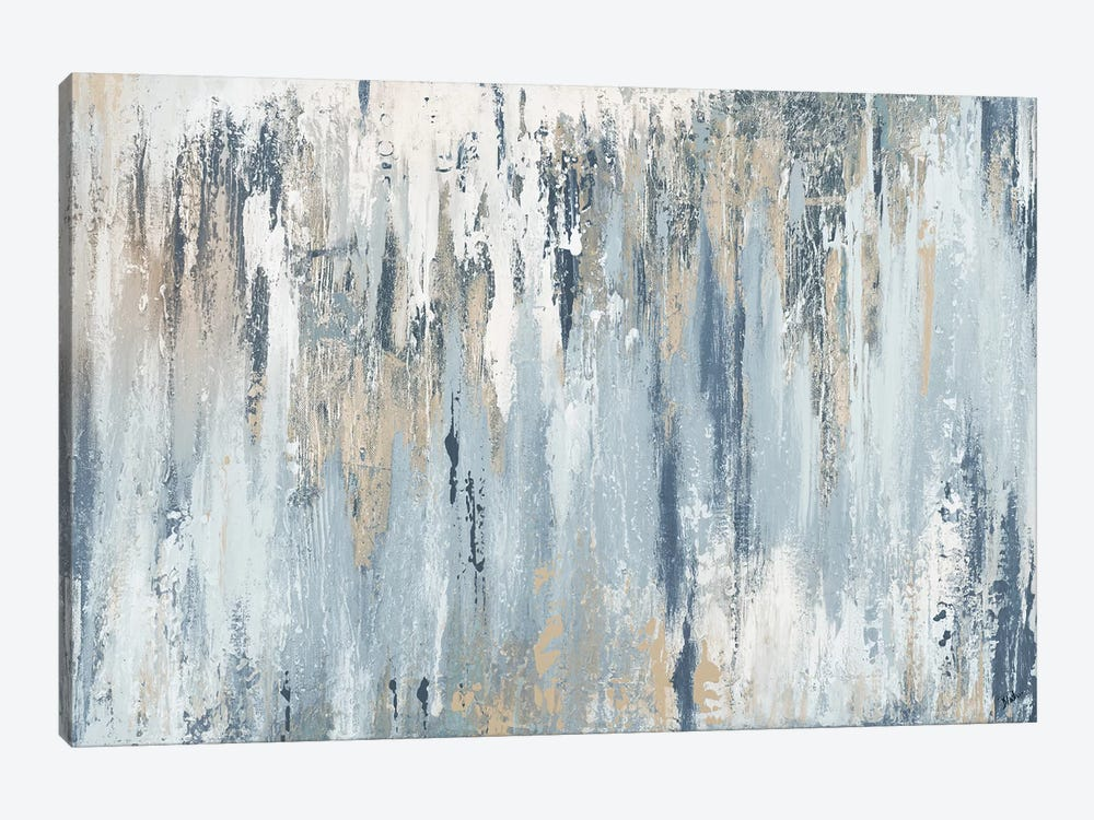 Blue Illusion by Patricia Pinto 1-piece Canvas Art