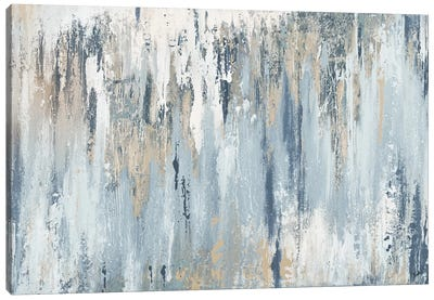 Blue Illusion Canvas Art Print