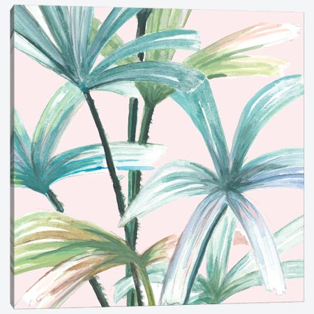 Jungle Leaf I Canvas Print #PPI610} by Patricia Pinto Art Print