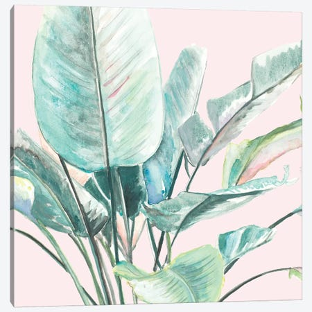 Jungle Leaf II Canvas Print #PPI611} by Patricia Pinto Art Print