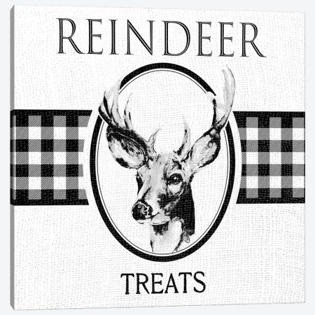 Reindeer Treats Canvas Print #PPI614} by Patricia Pinto Canvas Artwork