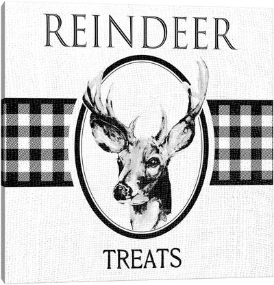 Reindeer Treats Canvas Art Print