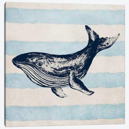 Surf Side Stripe IV Canvas Print #PPI619} by Patricia Pinto Canvas Print