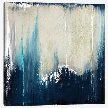 Blue Illusion I Canvas Print #PPI61} by Patricia Pinto Canvas Print