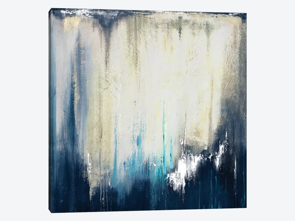 Blue Illusion II by Patricia Pinto 1-piece Canvas Wall Art