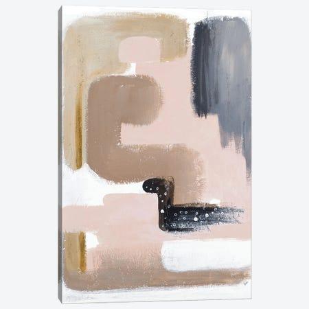 Black Bird Abstract Canvas Print #PPI633} by Patricia Pinto Canvas Print