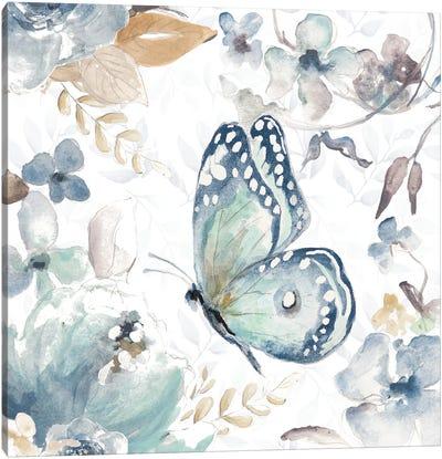 Butterfly Beauty I Canvas Art Print