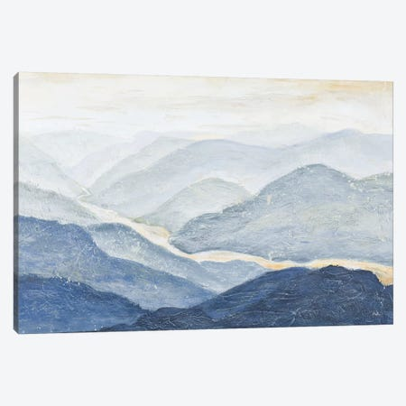 Blue Mountains Canvas Print #PPI63} by Patricia Pinto Canvas Art Print