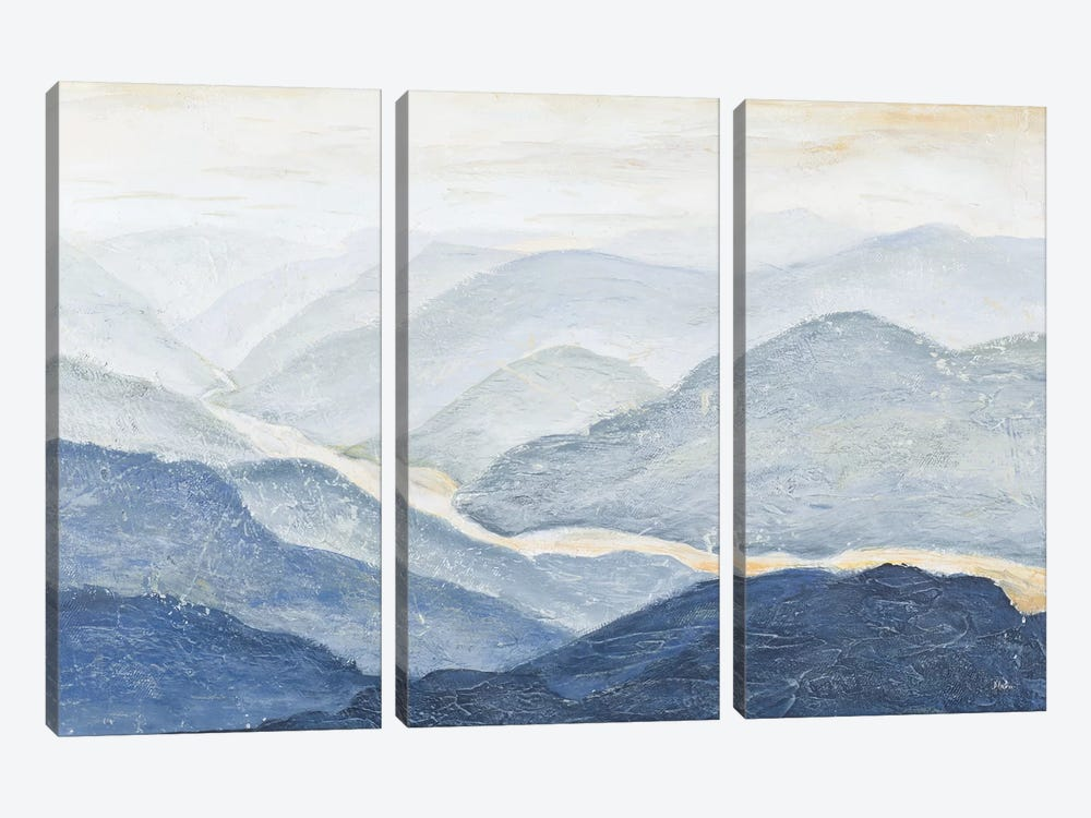 Blue Mountains by Patricia Pinto 3-piece Canvas Print