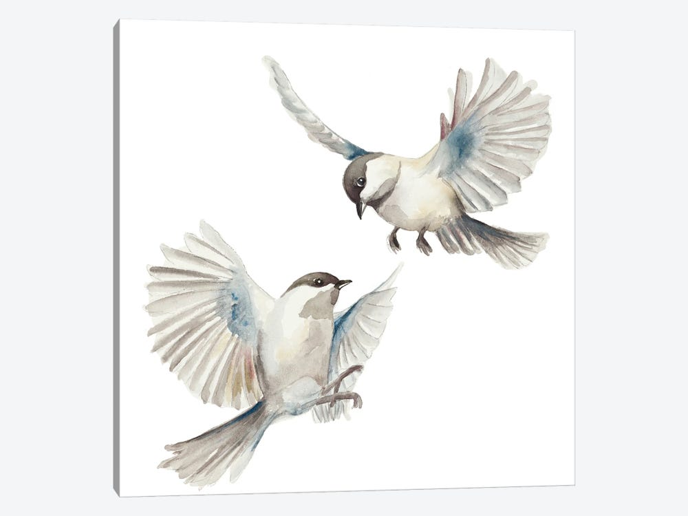 Isolated Birds by Patricia Pinto 1-piece Art Print