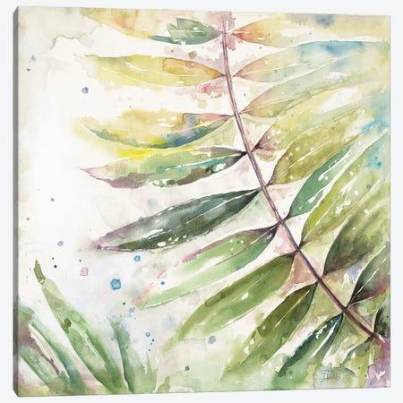 Jungle Inspiration Watercolor II Canvas Print #PPI659} by Patricia Pinto Canvas Art Print