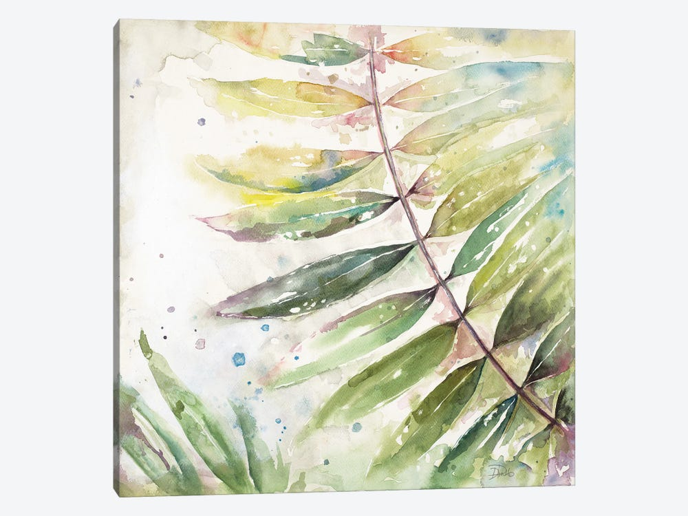 Jungle Inspiration Watercolor II by Patricia Pinto 1-piece Canvas Art Print