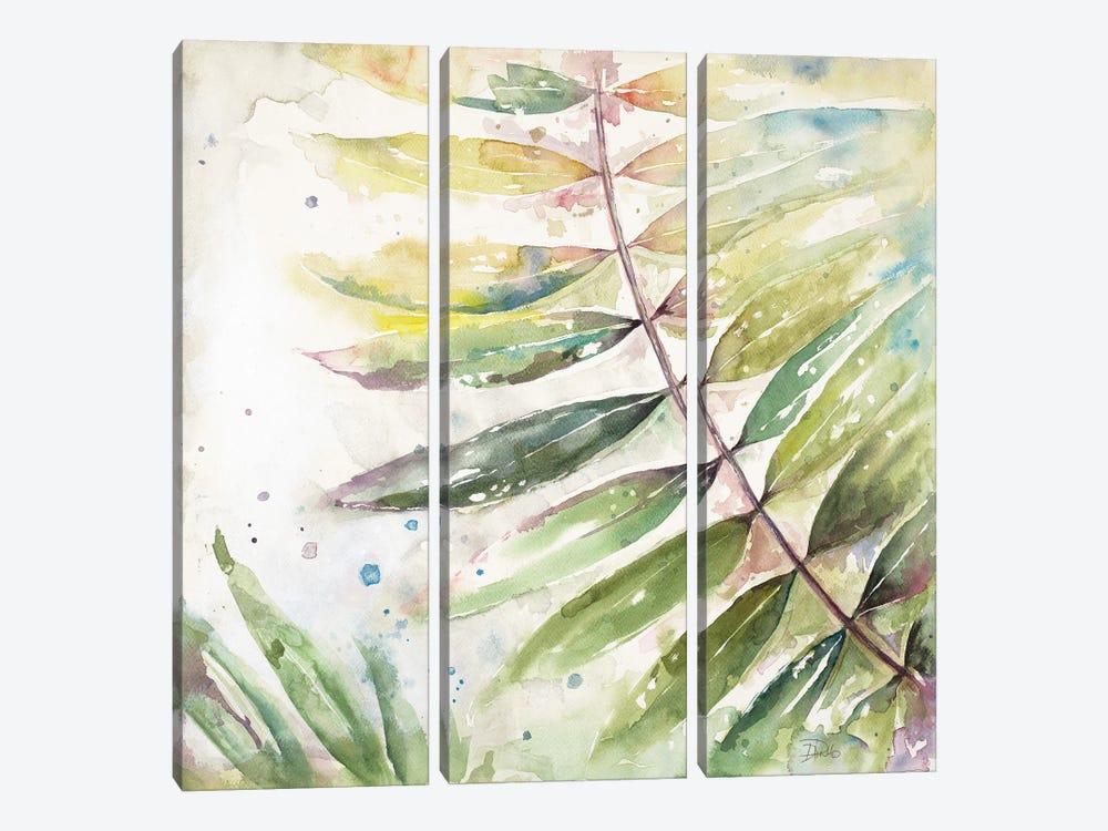 Jungle Inspiration Watercolor II by Patricia Pinto 3-piece Canvas Art Print