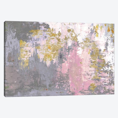 Pink Magic Abstract Canvas Print #PPI665} by Patricia Pinto Canvas Print