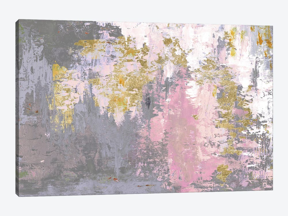 Pink Magic Abstract by Patricia Pinto 1-piece Canvas Wall Art