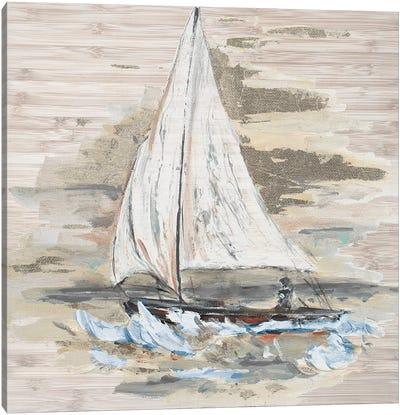 Rough Sailing I Canvas Art Print