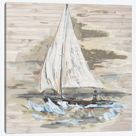 Rough Sailing I Canvas Print #PPI667} by Patricia Pinto Canvas Print