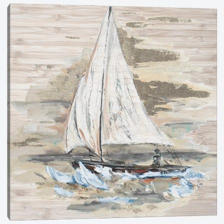 Rough Sailing I Canvas Print #PPI667} by Patricia Pinto Canvas Print