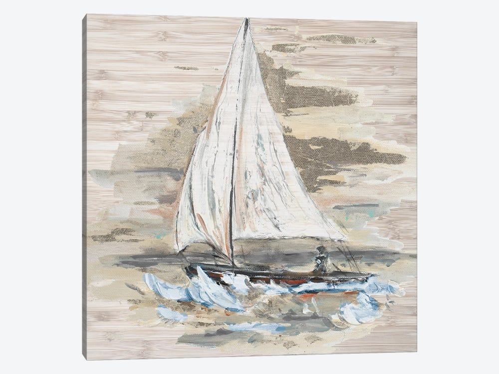 Rough Sailing I by Patricia Pinto 1-piece Canvas Art