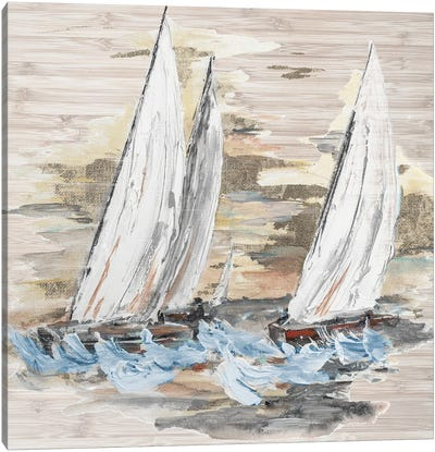 Rough Sailing II Canvas Art Print