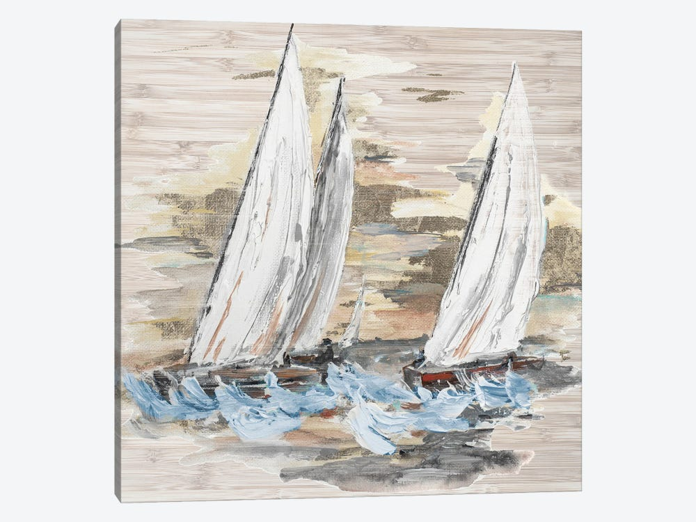 Rough Sailing II by Patricia Pinto 1-piece Art Print