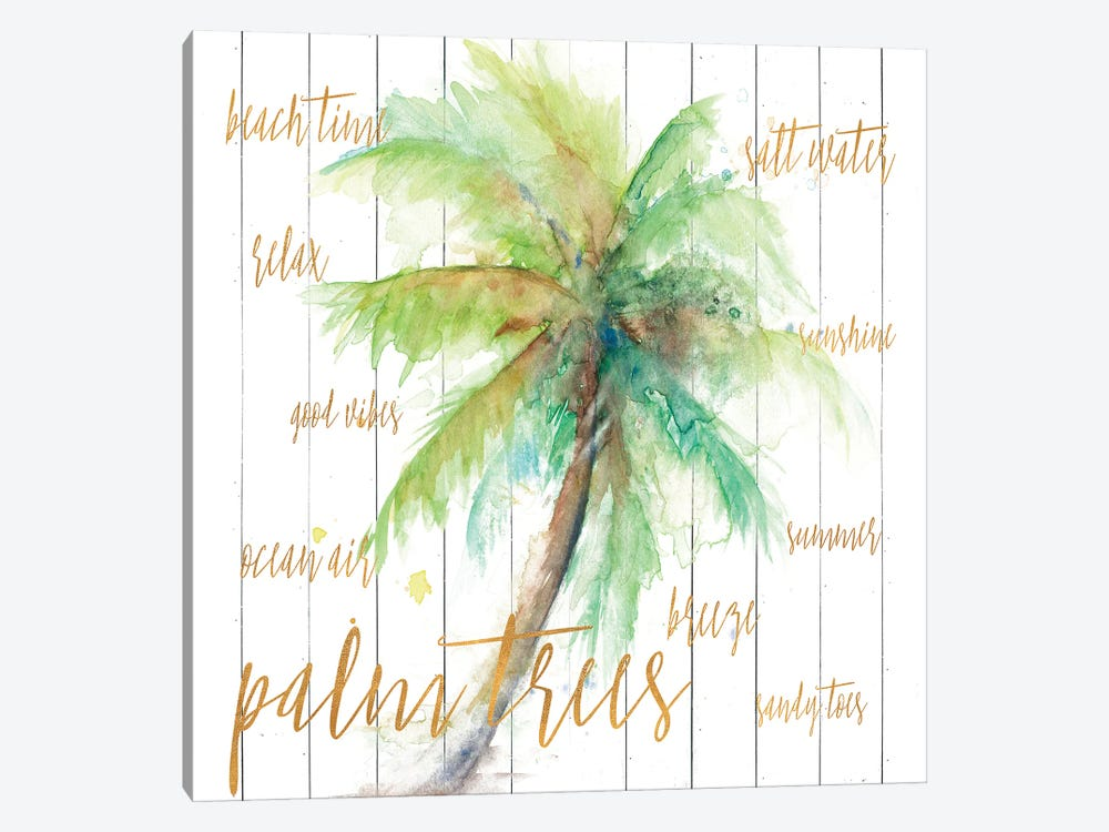 Vacation Palm by Patricia Pinto 1-piece Canvas Print