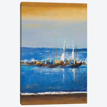 Blue Ocean I Canvas Print #PPI685} by Patricia Pinto Art Print