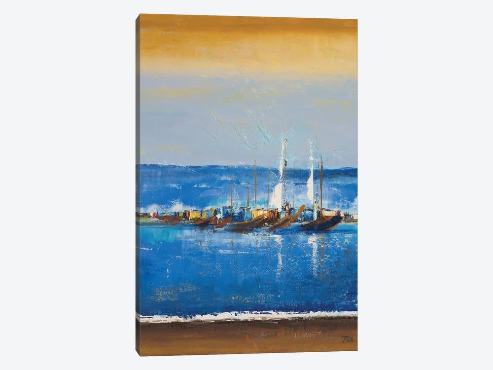 Blue Ocean I by Patricia Pinto 1-piece Canvas Art