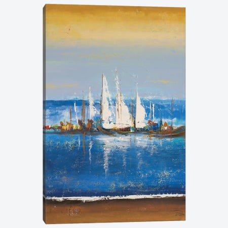 Blue Ocean II Canvas Print #PPI686} by Patricia Pinto Art Print